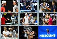 Roger Federer´s path to #18