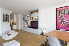 95 m² - Levallois-Perret aménagé et décoré par la décoratrice d'intérieur Vanessa Faivre