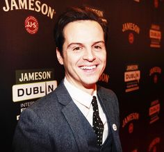 moransmoriarty:  Andrew Scott on the red carpet | The Stag Gala Night