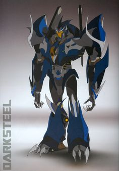 Transformers Prime Darksteel