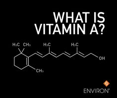 Vitamin A will always be an essential nutrient and has to be replaced each day for a healthy, youthful-looking appearance. The proper way to supply Vitamin A to the skin is directly to the surface areas that need it. Oral supplementation of Vitamin A is important but is inadequate to care intensively for the appearance of skin. #Environ #Skincare #tips www.dermaconcepts.com