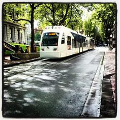 Max Line... Portland, Oregon  I ride this all the time. Love the Max!!