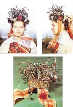Latvia,Wedding headdress