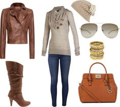 """""""Fall chic"""" by jamielena on Polyvore"""