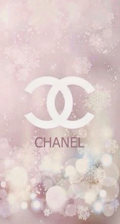 CHANELロゴ雪の結晶 iPhone壁紙 Wallpaper Backgrounds iPhone6/6S and Plus もっと見る