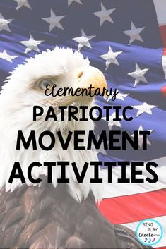 Patriotic Creative Movement and Rhythm Activities will give your music class elementary students activities to connect movement and music, learn beginning rhythms (ta and ti-ti), experience body percussion, and play instruments all in one amazing patriotic inspired bundle. Perfect for Patriotic Holiday activities. #veteransdaymusic, #musicedveteransdaylessons, #musiceducationveteransdaylessons, #orffveteransdaysongs #singplaycreate #patrioticmovementactivities #veteransdaymovementactivities