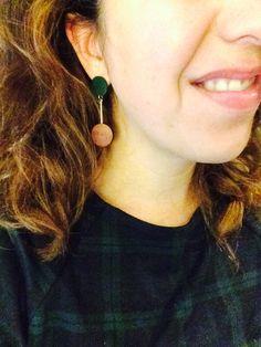 Retro earrings from oliver bonas