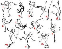 Janel Drewis Animation: balance as communicated through dance