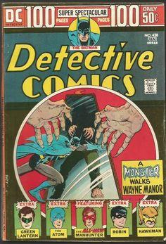 DETECTIVE COMICS #438 BATMAN DC COMICS 1973/4 Bronze Age Comic DC 100 Pages SupS