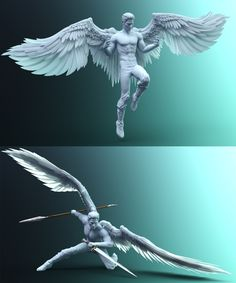 Sacrosanct: Poses and Expressions for Genesis 8 and Morningstar Wings Wings Drawing, Angel Drawing, Drawing Reference Poses, Drawing Poses, Drawing Tips, Anatomy Reference, Fantasy Character Design, Character Art, Art Poses