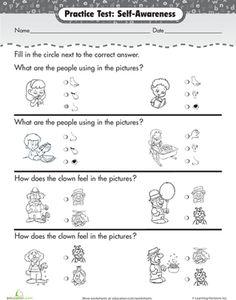 Preschool Science Worksheets: Senses and Feelings