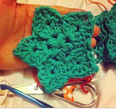 Not your regular granny star | Free crochet pattern via Ravelry