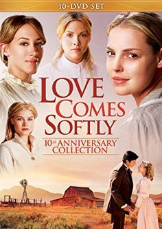 Celebrate the Anniversary of the original Love Comes Softly movie by reliving your favorite moments from the most inspirational film series of the past decade with a new DVD Gift Set. Películas Hallmark, Hallmark Movies, Hallmark Channel, Robin Williams, Stephen Hawking, Love Comes Softly, Christian Movies, Dvd Set, Family Movies