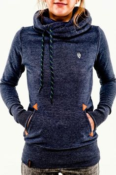Darth Long Indigo Women's Hoodie