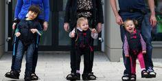 L'invention qui fait marcher les enfants handicapés