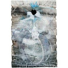 'Untitled 2 (rain & moonlight series) (on HOLD)' by James Robinson Peter Robinson, James Smith, Action Painting, Expressionism, Moonlight, Rain, Models, Contemporary, Artist
