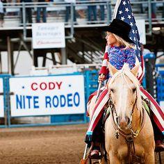 Rodeo in Cody, Wyoming