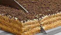 Romanian Desserts, Romanian Food, Cake Slicer, Cake Recipes, Dessert Recipes, Delicious Deserts, Oreo Dessert, Sweet Cakes, Holiday Desserts