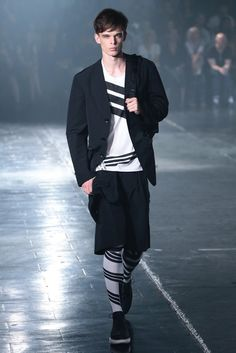 Y-3 Men's RTW Spring 2014 - Slideshow - Runway, Fashion Week, Reviews and Slideshows - WWD.com