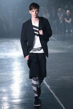 Y-3 Men's RTW Spring 2014 - Slideshow - Runway, Fashion Week, Reviews and Slideshows - WWD.com