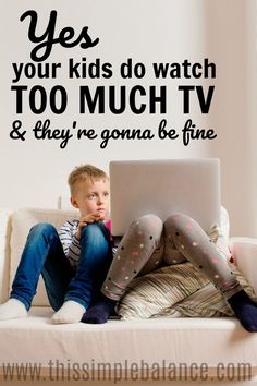 Do you feel serious mom guilt every time you turn on the TV? Maybe your kids do get too much screentime, but you need to read this mom advice because there's something far worse than them watching too much TV.