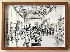 Past Exhibitions — The Voorkamer Gallery Watercolour, Past, Louvre, Ink, Gallery, Drawings, Home Decor, Pen And Wash, Watercolor Painting