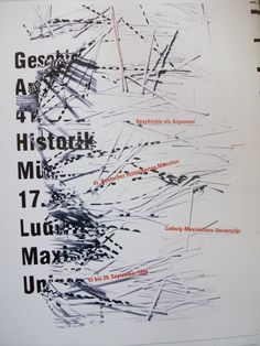 Uwe Loesch, Geschichte als Argument. 41. Deutscher Historikertag München, Ludwig Maximilian Universität
