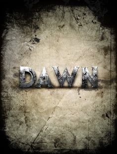 In this tutorial, I will show you the steps I took to Design a Dawn of War Style Concrete Text Effect in Photoshop. I try to break this tutorial down into some fine details and hopefully will give beginners some ideas of how to apply textures to font, plus masking and image adjustments. Have a try!