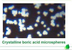nimmaterial: Crystalline boric acid microspheres