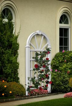 """""""Hanover Trellis"""" by New England Arbors from USA Exterior"""