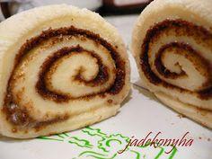 Jade konyhája: Cinnabon - amerikai fahéjas csiga Bagel, Cookies, Desserts, Food, Crack Crackers, Tailgate Desserts, Deserts, Eten, Cookie Recipes