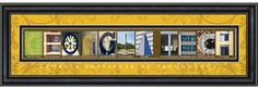 """Georgia Institute of Technology Campus Letter Art  -The pictures spell """"Georgia Tech"""" ! Cool!  #georgiatech @Georgia Tech @Georgia Tech Alumni Association"""
