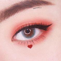 make up looks natural asian Makeup Without Eye Makeup, Blue Eye Makeup, Kiss Makeup, Makeup Art, Kawaii Makeup, Cute Makeup, Pretty Makeup, Makeup Inspo, Makeup Inspiration