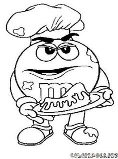 printable m&m coloring pages | Coloring Pages for Kids | Kids ...