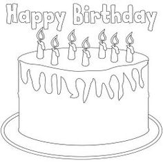 Birthday coloring pages, activity sheets and craft ideas.