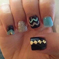 Love this nail design. So cute!!!