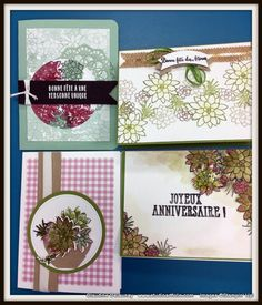 Galerie Images Stampin Up, Frame, Cards, Succulents, Projects, Picture Frame, Frames, Stamping Up, Map