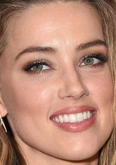Close-up of Amber Heard at the 2015 Toronto premiere of 'The Danish Girl'. http://beautyeditor.ca/2015/09/22/tiff-2015