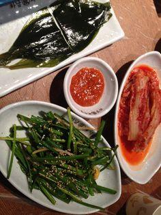 Side Dishes of Samgyepsal!