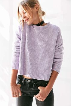 Silence + Noise Chenille Pullover Sweater - Urban Outfitters