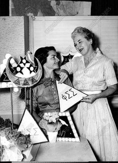 1959 PHI Sigma Sigma Alumnae Press Photo   eBay