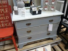 A Lovely Hand Painted small Chest