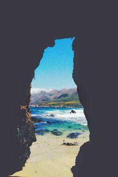 Find a secret place to get lost.   Garrapata Beach, CA