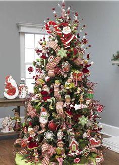 VM designblogg: Ιδέες για Χριστουγεννιάτικα Δέντρα