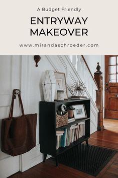 Entryway Makeover: A Before & After on a Budget   Miranda Schroeder Blog  www.mirandaschroeder.com