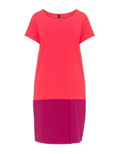 Bi-coloured cotton dress by Manon Baptiste. Shop now