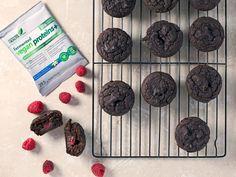 Raspberry Cacao Protein Muffins - Genuine Health