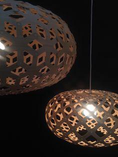 David Trubridge #lighting - SNOWFLAKE & KINA - at #dallasmarket