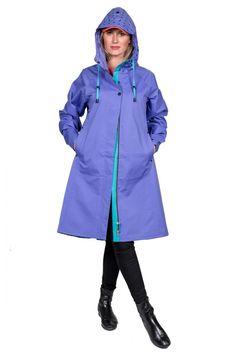 26be066e5cad64 STYLE 554 Mantel Jacke, Rain Coats, Rain Wear, Rainy Days, Colorful Fashion