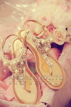 Andrea Polito Photography // #Bride's Shoes
